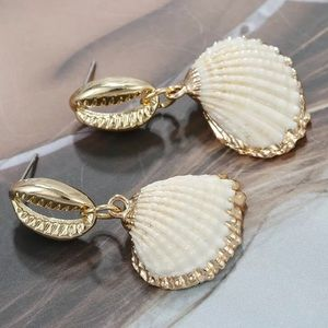Jewelry - 2 for $20///Seashell Drop Earrings